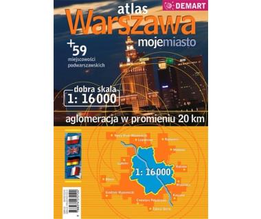 Warszawa moje miasto atlas (+ 59 miejscowości)