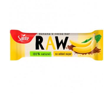 Baton owocowy RAW Banan & Kakao 35g