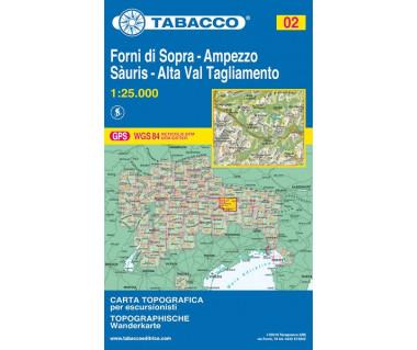 TAB02 Forni di Sopra, Ampezzo-Sauris, Alta val Tagliamento