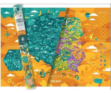 Familijna mapa zdrapka Polski