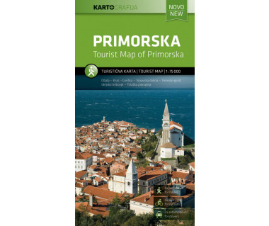 Primorska tourist map