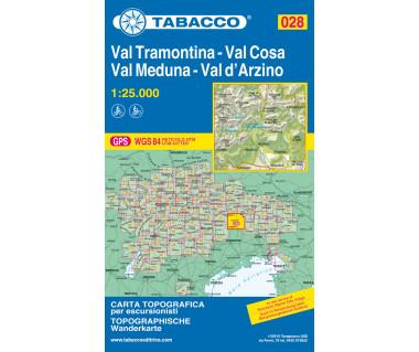 TAB028 Val Tramontina, Val Cosa, Val Meduna, Val d'Arzino