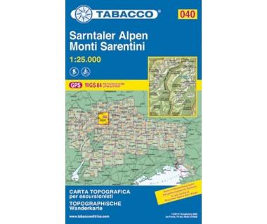 TAB040 Monti Sarentini/Sarntaler Alpen