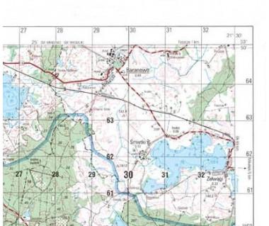 M-33-58-C,D Kłodzko mapa topograficzna