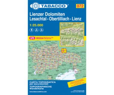 TAB072 Lienzer Dolomiten, Lesachtal, Obertilliach
