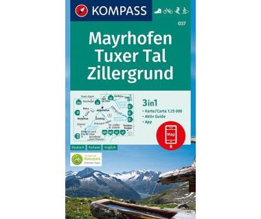 K 037 Mayrhofen, Tuxer Tal, Zillergrund
