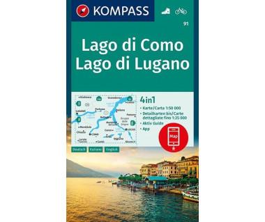 K 91 Lago di Como, Lago di Lugano