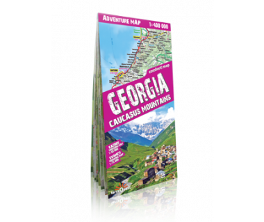 Georgia, Caucasus Mountains adventure map
