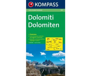 K 364 Dolomites panorama