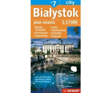 Białystok (plus7) Bielsk Podlaski, Hajnówka, Łapy, Siemiatycze, Sokółka, Supraśl