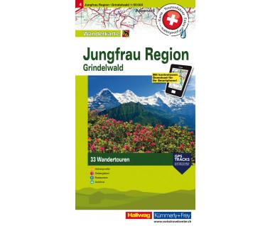 4 Jungfrau Region, Grindelwald 1:50'000