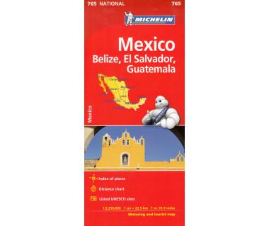 Mexico, Belize, El Salvador, Guatemala (765)