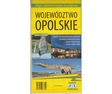 Woj.opolskie mapa administracyjno-turystyczna