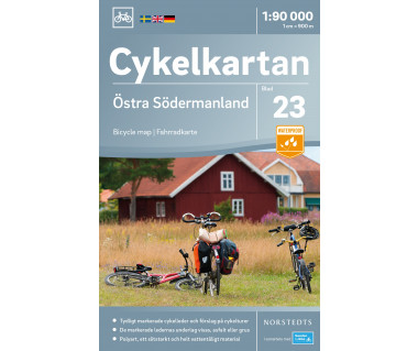Södermanland East cykelkartan 23