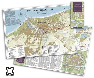 Twierdza Kołobrzeg mapa turystyczna