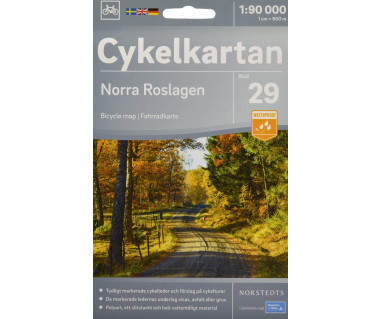 Norra Roslagen cykelkartan 29