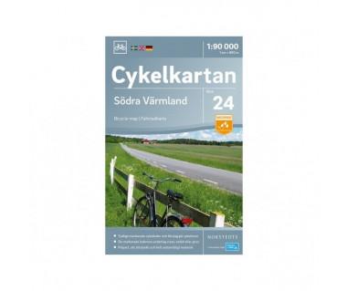 Sodra Varmland cykelkartan 24
