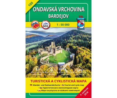 S105 Ondavska Vrchovina-Bardejov