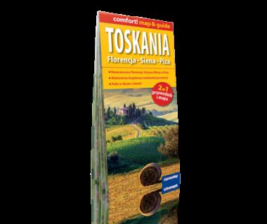 Toskania - Florencja, Siena, Piza 2 w 1 (mapa+przewodnik)