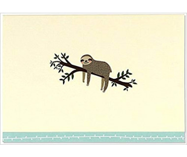 Kartka mini Sloth