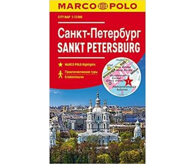 Sankt Petersburg city map