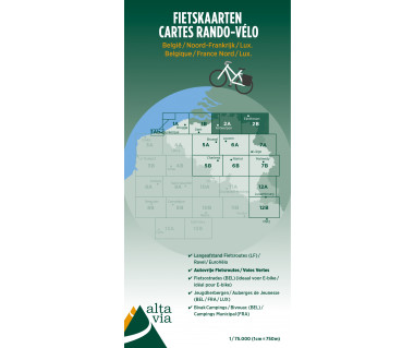 Antwerpen/Limburg Cycle map