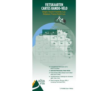 East&West Flanders Cycle map