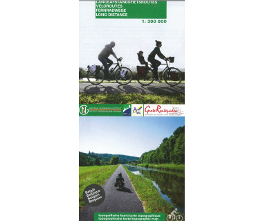 Belgium long distance cycle routes
