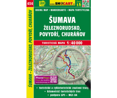 CT40 434 Sumava, Zeleznorudsko, Povydri, Churanov