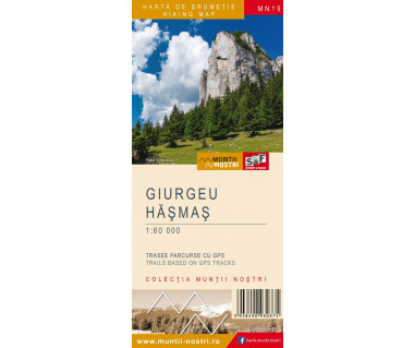 Giurgeu Hasmas harta de drumetie/hiking map