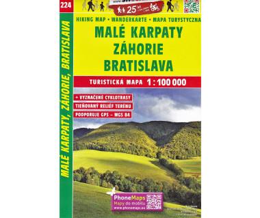 CT100 224 Male Karpaty, Zahorie, Bratislava