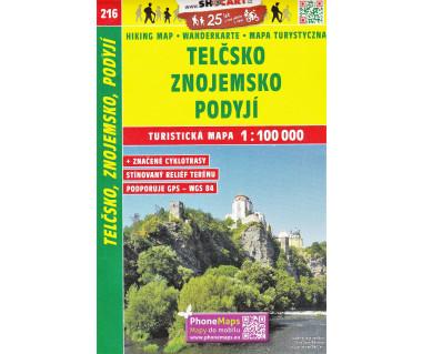 CT100 216 Telcsko, Znojemsko, Podyji