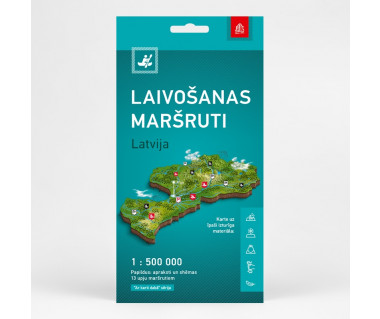 Latvija Laivosanas marsruti (szlaki wodne)