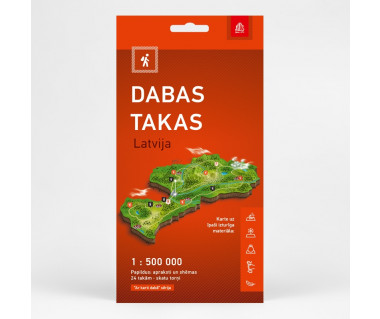 Latvija Dabas takas (ścieżki przyrodnicze)