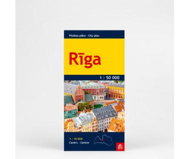 Riga (plan kieszonkowy)