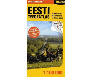 Eesti teedeatlas / Estonia Road Atlas