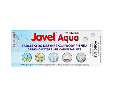 Tabletki do uzdatniania wody Javel Aqua