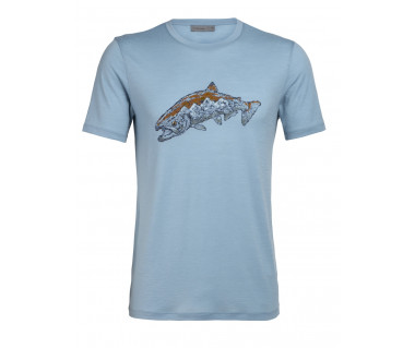 Koszulka Tech Lite SS Crewe Tetons Salmon