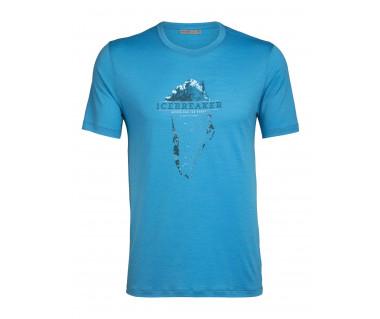 Koszulka Tech Lite SS Crewe Greenland Crest