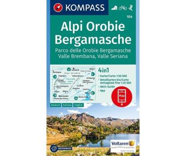 K 104 Alpi Orobie, Bergamasche
