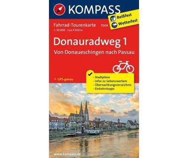K 7009 Donauradweg (1) Von Donaueschingen nach Passau