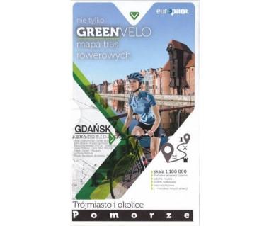 Green Velo mapa rowerowa Trójmiasto i okolice - Pomorze