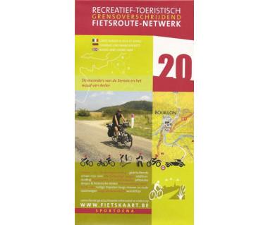 Semois meanders 20 Anlier Forest biking & hiking map