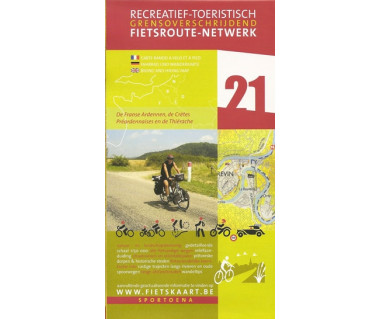 French Ardennes 21 Thiérache biking &  hiking map