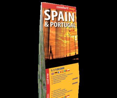 Spain & Portugal road map