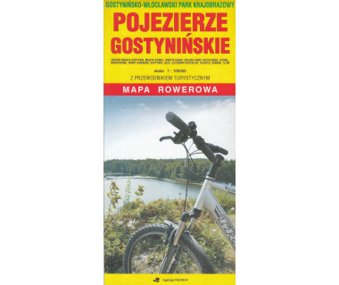 Pojezierze Gostynińskie mapa rowerowa