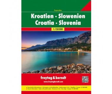 Kroatien, Slowenien superatlas