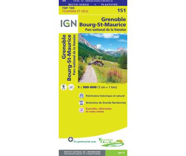 IGN100 151 Grenoble / Chambery / PN de la Vanoise