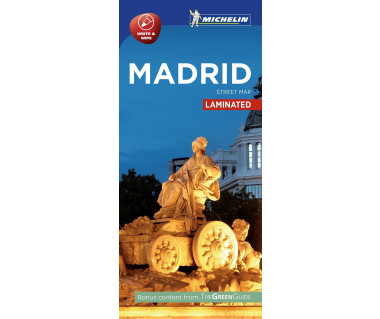 Madrid - Street Map (laminated)