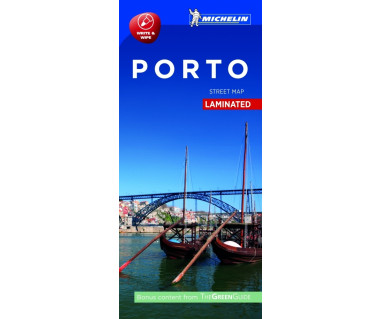 Porto street map laminated